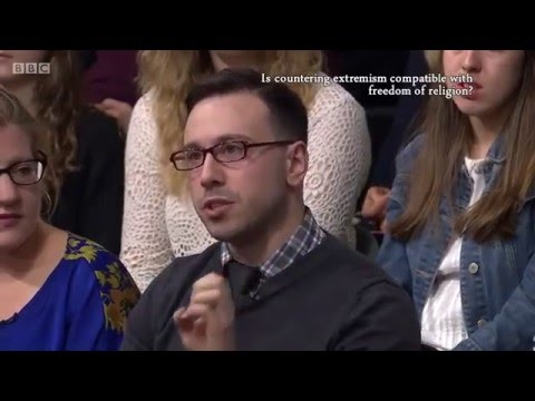 'Is countering extremism compatible with freedom of religion?' The Big Questions 22/5/16  -Adam Deen