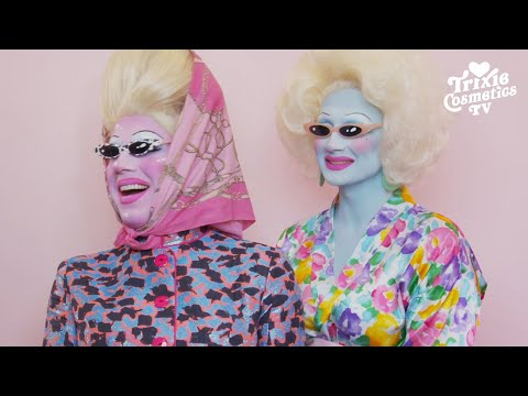 Trixie Mattel Gets A Juno Birch Makeover (featuring the Summer of Love Palette)
