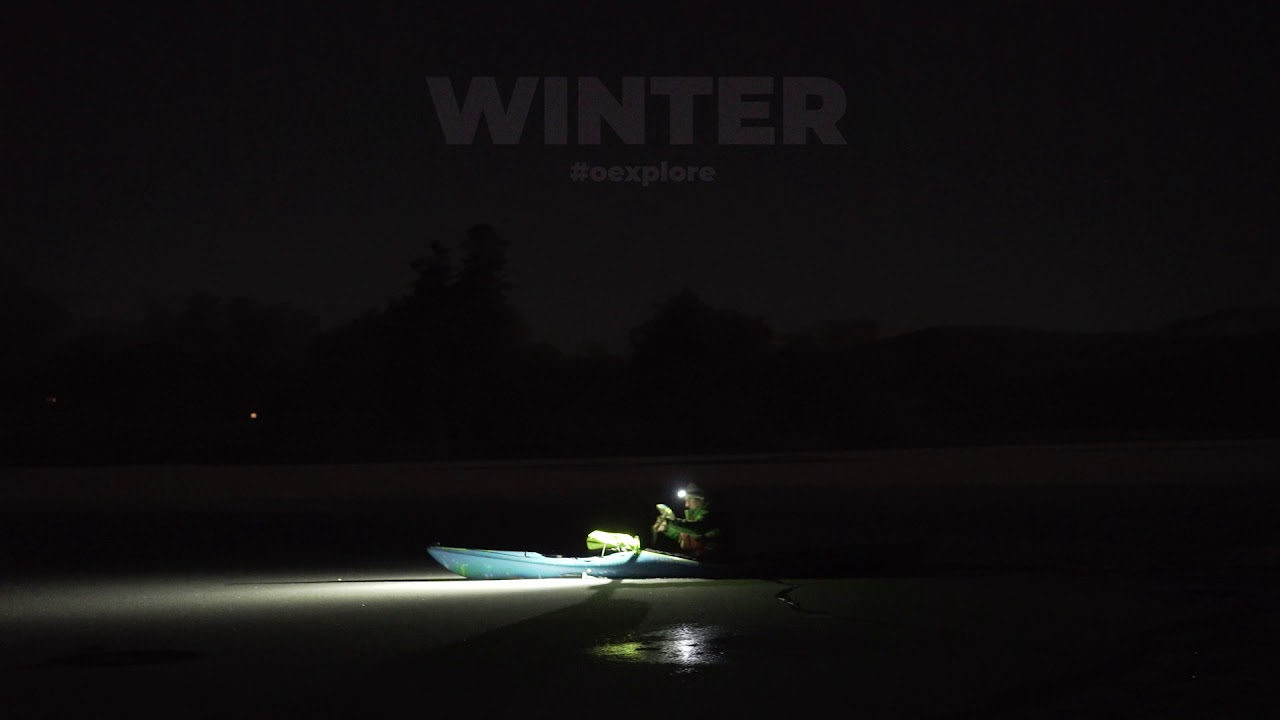 Winter - night kayaking Scotland - Outdoor Explore