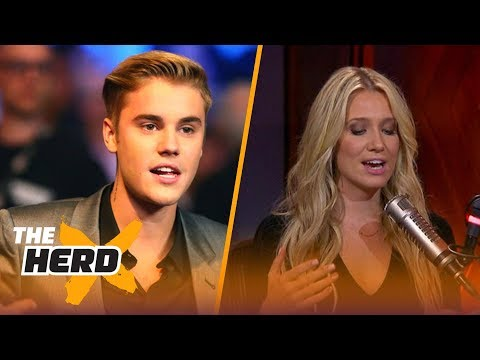 Justin Bieber unfollowed Floyd Mayweather on Instagram - Kristine and Colin react | THE HERD
