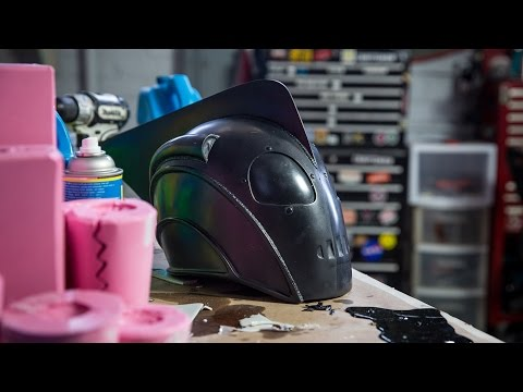How To Slush Cast a Prop Helmet