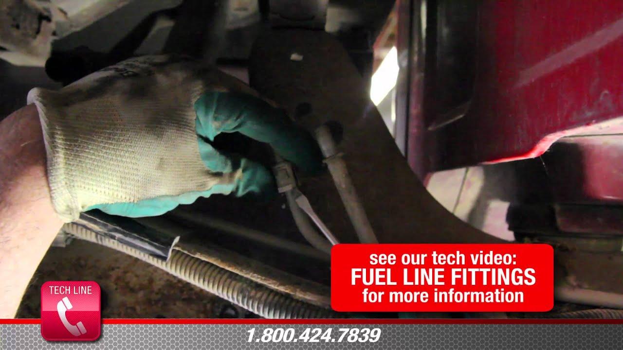 4x4 Wire Diagram How To Install Fuel Pump E3943m In A 1997 Chevrolet Blazer