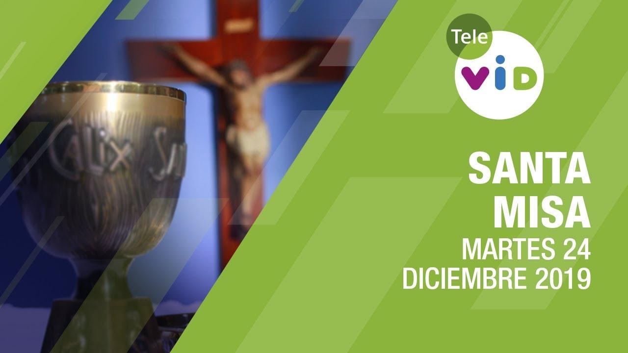 Santa Misa De Hoy Martes 24 De Diciembre De 2019 Feliznavidad Padre Mariusz Maka Tele Vid
