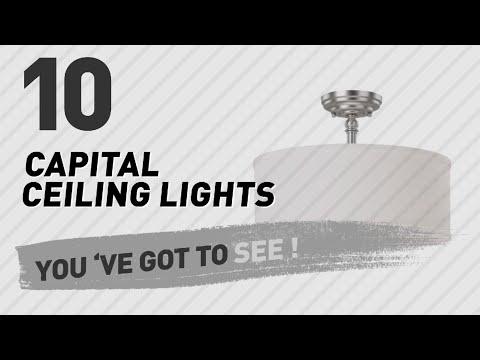 Capital Ceiling Lights // New & Popular 2017