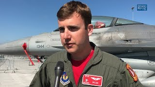 USAF F-16CJ Fighter Pilot On SEAD Mission, Challenges Of Flying Block 50 Viper