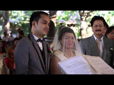 Rollie and Sharren Wedding Preparation to Church