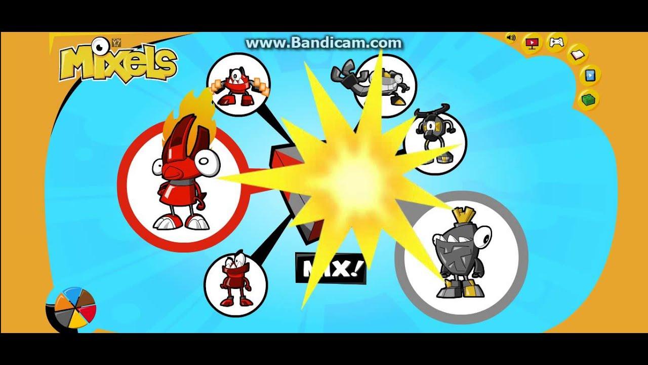 Mixels Website