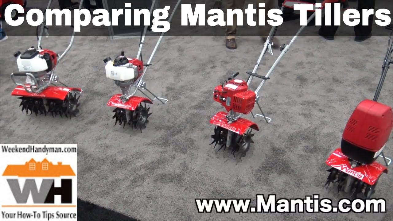 Comparing Mantis Tiller Cultivators Electric, 2 cycle and 4 cycle Engines |  Weekend Handyman