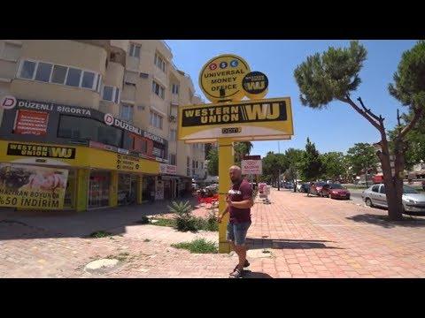 Перевод денег в Турции // Western Union Золотая корона или Контакт?