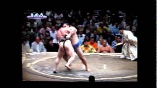 隠岐の海vs白鵬 大相撲平成27年秋場所 okinoumi vs hakuho sumo.