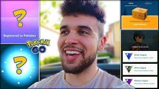 🔴LIVE! NEW MYTHICAL RAIDS & SHINY EVOLUTIONS! (Pokémon GO)