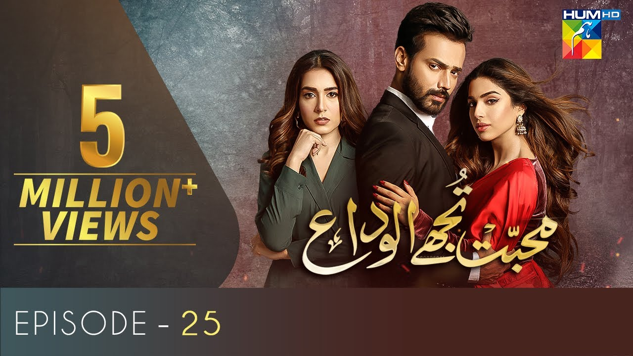 Download Mohabbat Tujhe Alvida | Episode 25 | Eng Sub | Digitally Powered By Master Paints | 2 Dec 2020