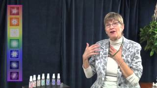 Gemstone Therapy Spray Demonstration: Color Rays and Life Issues
