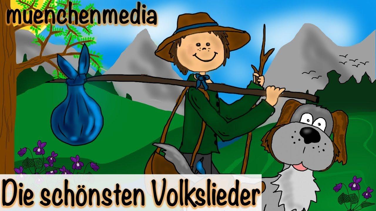 Die schönsten Volkslieder - Video Mix - Kinderlieder zum Mitsingen ...