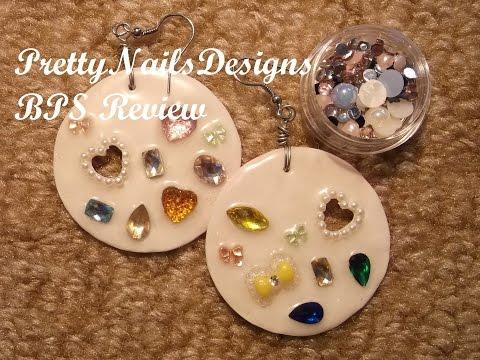 BPS Review 7: Rhinestones// DIY Acrylic Earrings