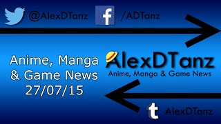 Anime, Manga & Game News 27/07/15 – Licences from MCM Manchester Comic Con 2015!