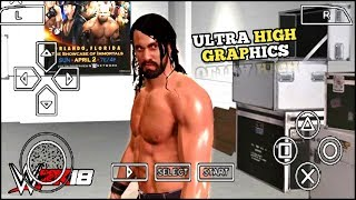 [ 250 MB] DOWNLOAD REAL WWE2K18 FOR ANDROID PPSSPP | WWE2K18 PPSSPP MOD|FULL GAME