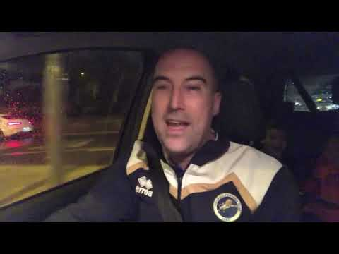 The drive home with TT-Blackburn at home, rocked by Rovers.