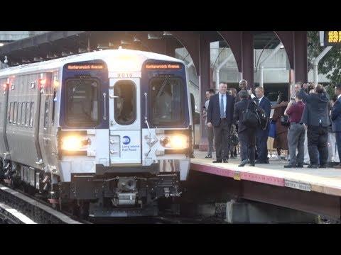 LIRR - Huntington Station - First M9 Revenue Run