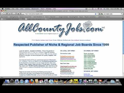 Creating a hub for your job board network