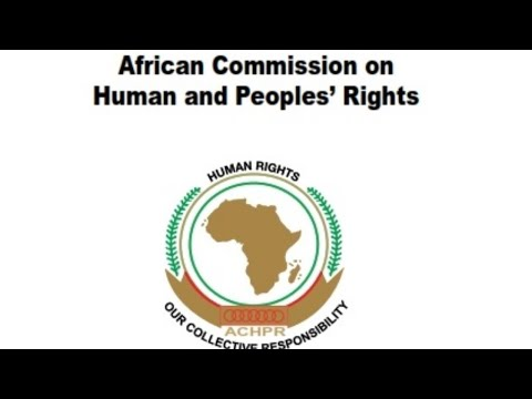 LIVE : D66th Ordinary Session of the African Commission on Human & Peoples' Rights (ACHPR) - PUBLIC