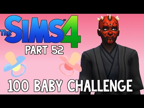 The Sims 4: 100 Baby Challenge - Darth Maul (Part 52)