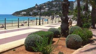 IBIZA - SANTA EULALIA - BEACH AREA AND PROM