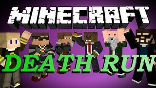 Repeat youtube video Minecraft Death Run Minigame #4 w/ SkyDoesMinecraft and Friends!