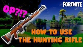 """How to """"Ghost"""" Using the Hunting Rifle 