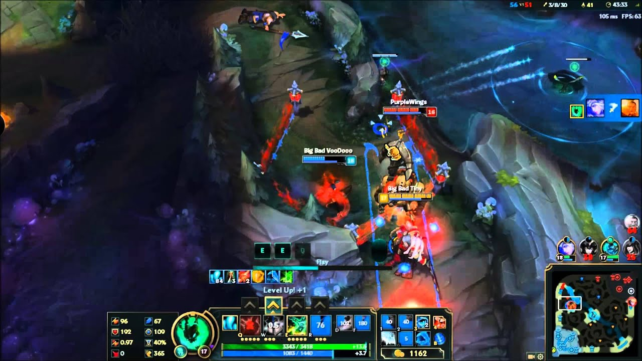 how to play adc thresh