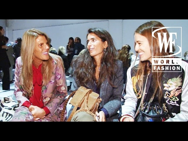 Front Row Fay Spring-Summer 2016 Milan Fashion Week