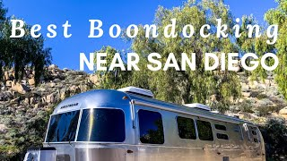 Where to BOONDOCK Near SAN DIEGO, California