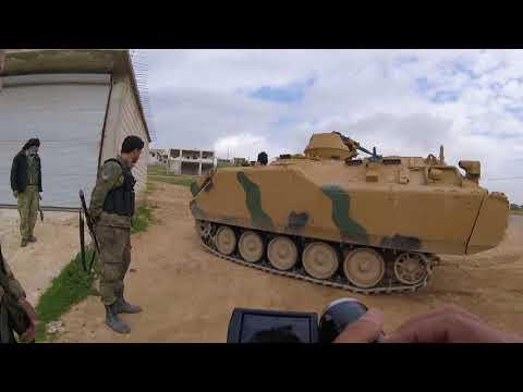 savaş muhabiri irfan sapmaz suriyede zeytin dalı harekatını izliyor  61.gün