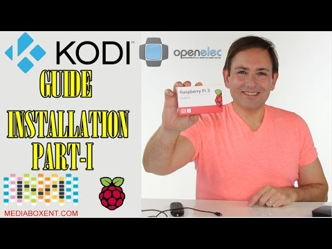 🍒 Raspberry Pi 3 as a complete Kodi - Home Media Center Open