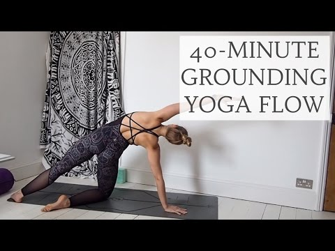 ALL LEVELS GROUNDING YOGA FLOW | 40-Minutes | CAT MEFFAN