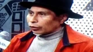 Tv boliviana hablando del rio silala
