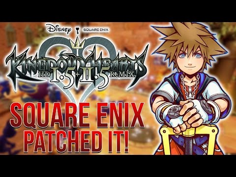 Kingdom Hearts 1.5+2.5 Has Been Updated! Square Listened?!