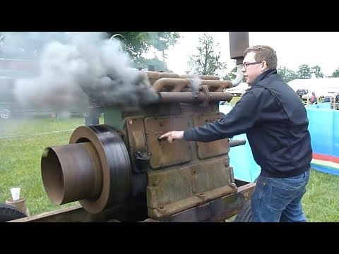 ANCIENT OLD ENGINES Starting Up And Running Videos Compilation