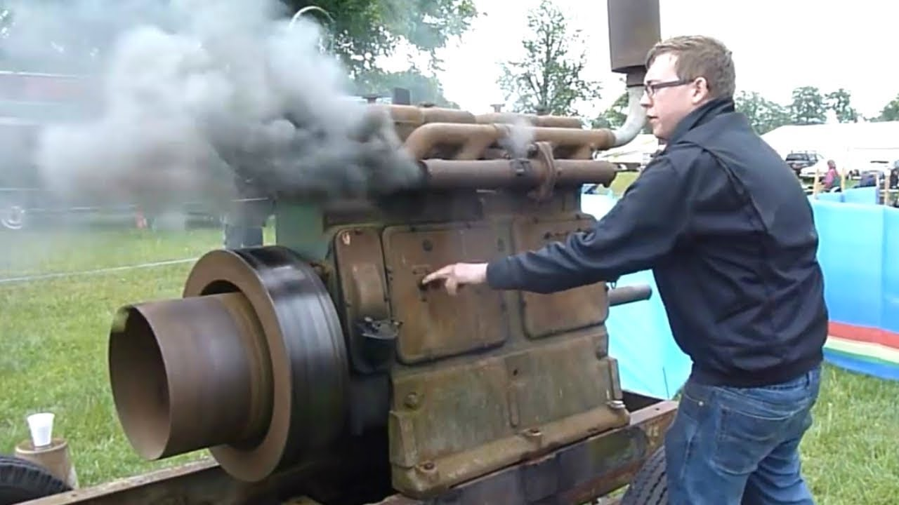 Download ANCIENT OLD ENGINES Starting Up And Running Videos Compilation