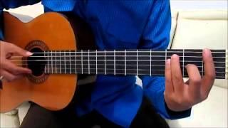 Belajar Gitar Untuk Pemula - Belajar Kunci Gitar Dasar - Chord F Mayor