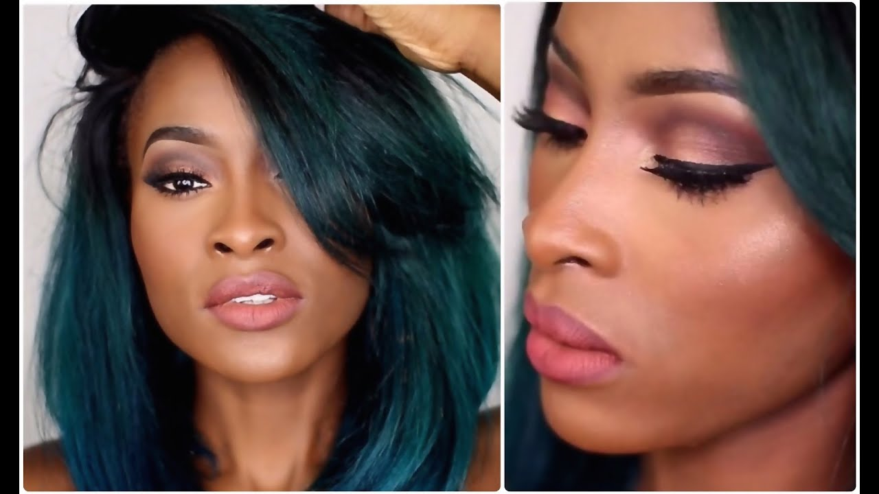 Rose Gold Eyes, Rosy Mauve Lips   Brown Kylie Jenner - YouTube