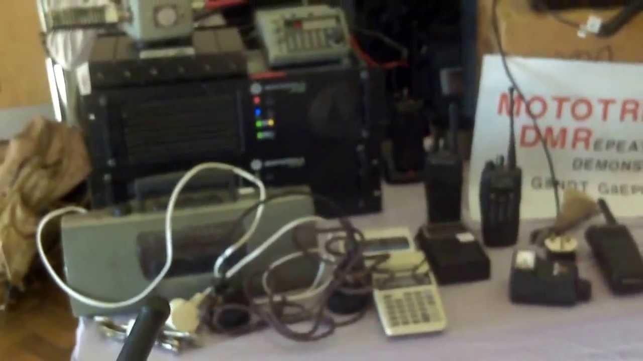 MOTOTRBO DMR DEMONSTRATION DR3000 GB3GB AMATEUR RADIO 70CM REPEATER ON TEST