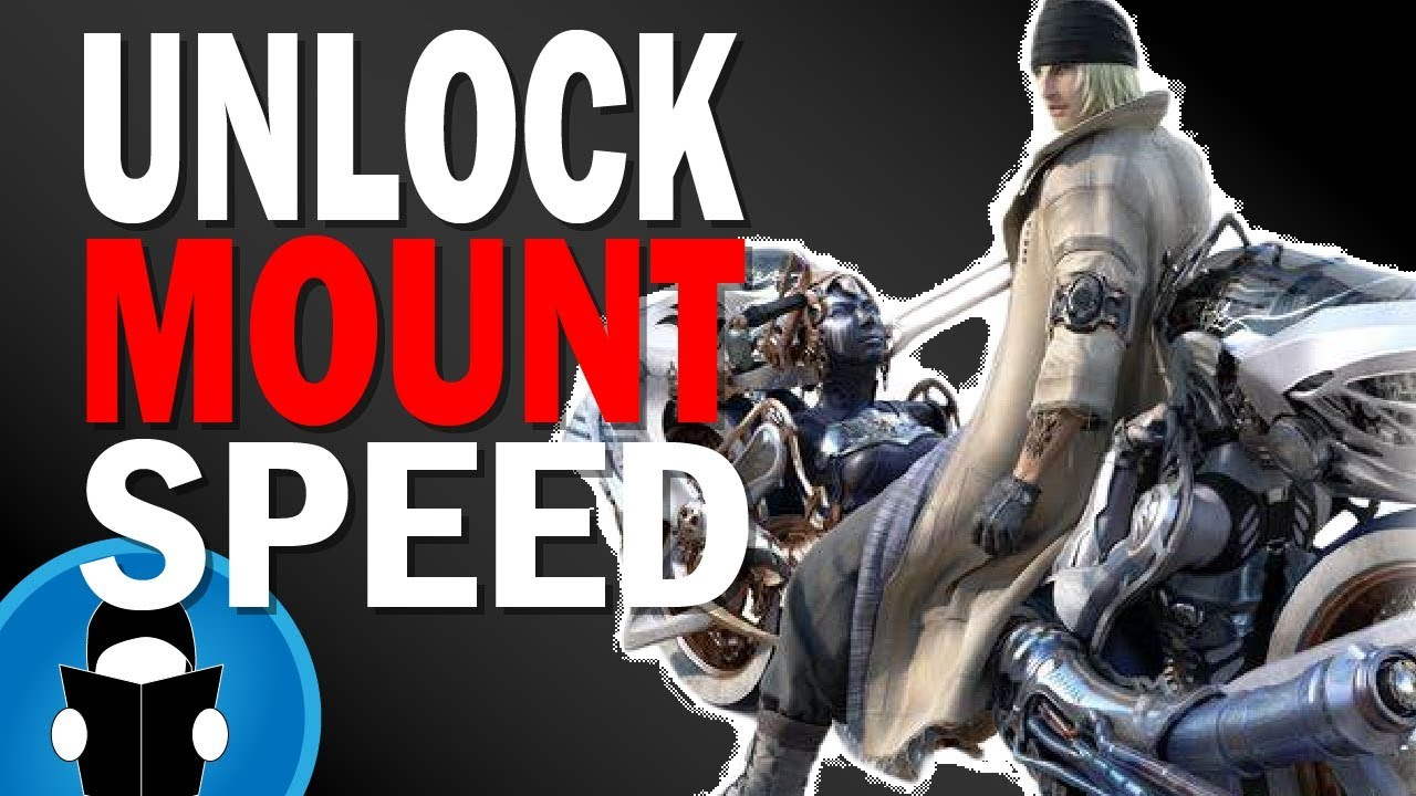 FFXIV Shadowbringers How To Unlock Mount Speed Upgrades | 101 Guide