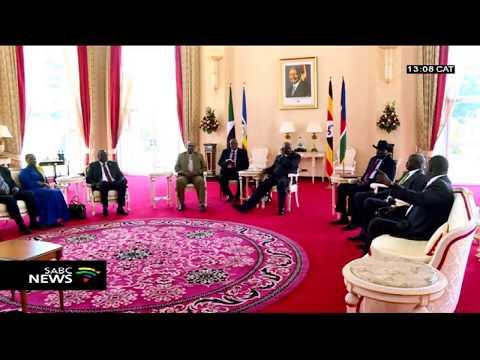 Salva Kiir Mayardit, Riek Machar agree to a power sharing deal
