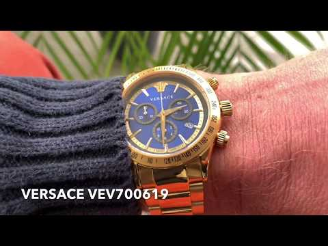 Versace VEV700619 Chrono Classic: An Excellent Watch For Men With Style