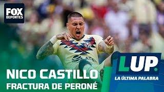 LUP: Nico Castillo se fracturó el peroné