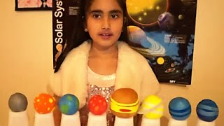 Solar System Project for Kids, Easy Model, Planets in our Solar System