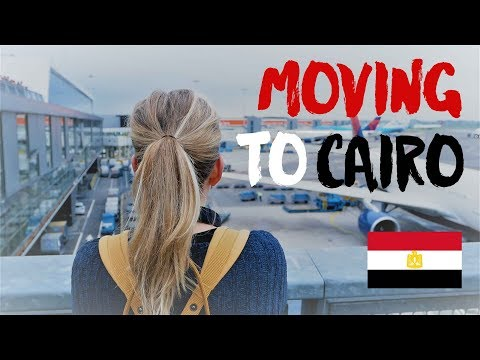 HELLO EGYPT | Moving to Cairo | مرحبا مصر