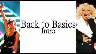 Christina Aguilera - Intro (Back To Basics) (Lyrics On Screen)
