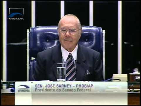 Presidente do Senado, José Sarney, faz discurso de encerramento dos trabalhos da Casa em 2011